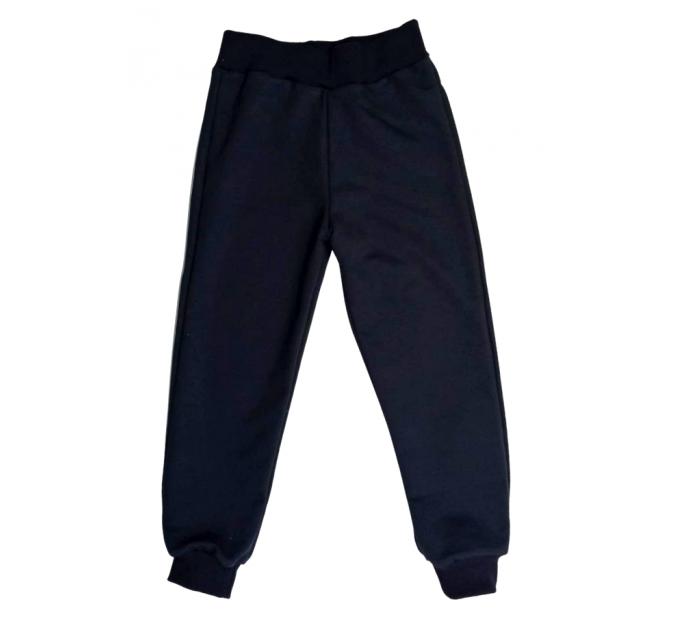 Спортивные штаны 381 (серо-синие)