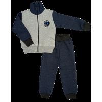 Спортивный костюм 0212/28 (меланж, темно-серый)
