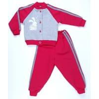 Спортивный костюм 0276/6 (меланж, коралл)
