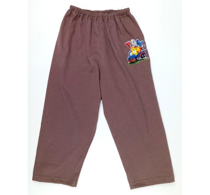 Ползунки штанишки 510/1 (коричневые, наклейка)