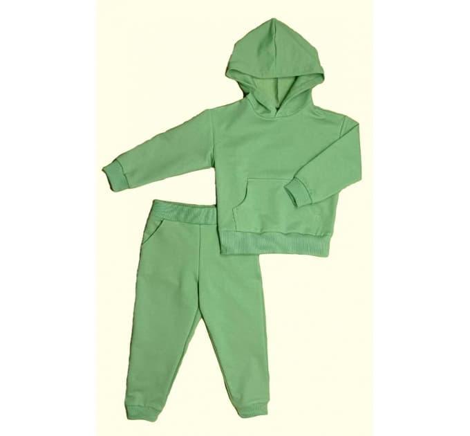 Спортивный костюм 0315/5 зеленый, 2х/н