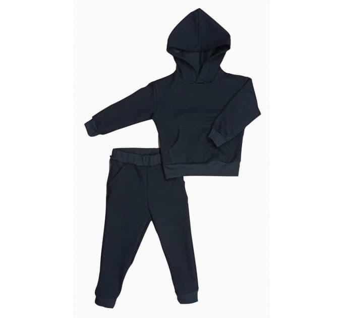 Спортивный костюм 0315/6 черный, 2х/н