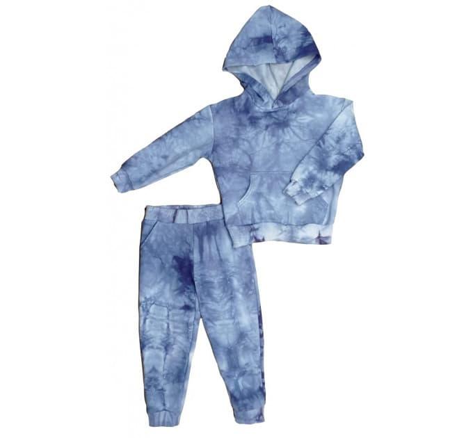 Спортивный костюм 0315/9 варенка, синий