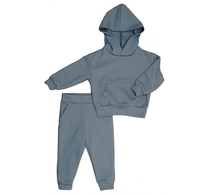 Спортивный костюм 0316/2 т. серый