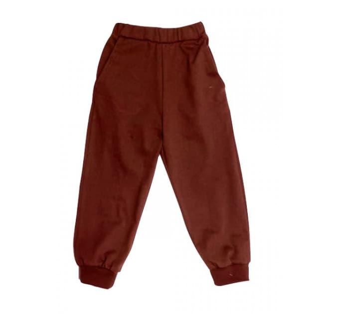 Спортивные штаны 357/8 (коричневые)