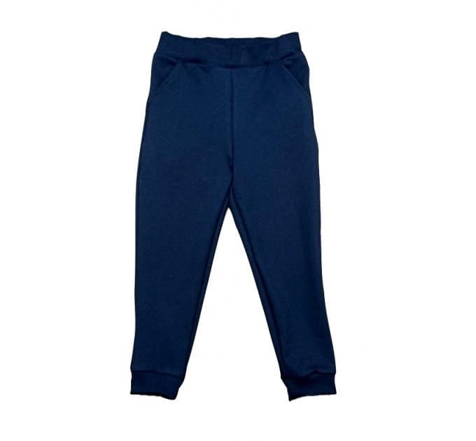 Спортивные штаны 381/49 т.синие с карманами
