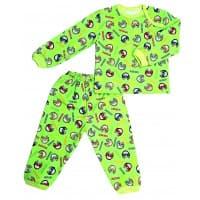 Пижама 602/28 (машинки на зеленом)