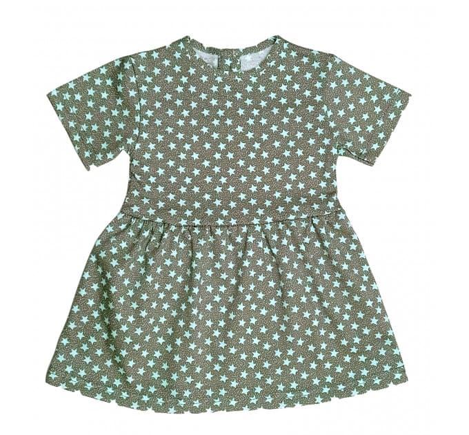 Платье 7072/9 (звезды мятные)