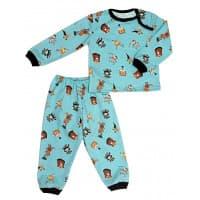 Пижама 602/31 (зверюшки на голубом)
