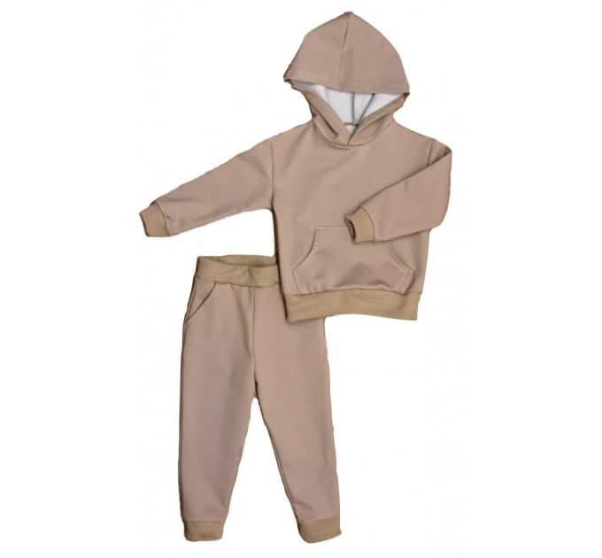 Спортивный костюм 0315/15 коричневый, 2х нитка