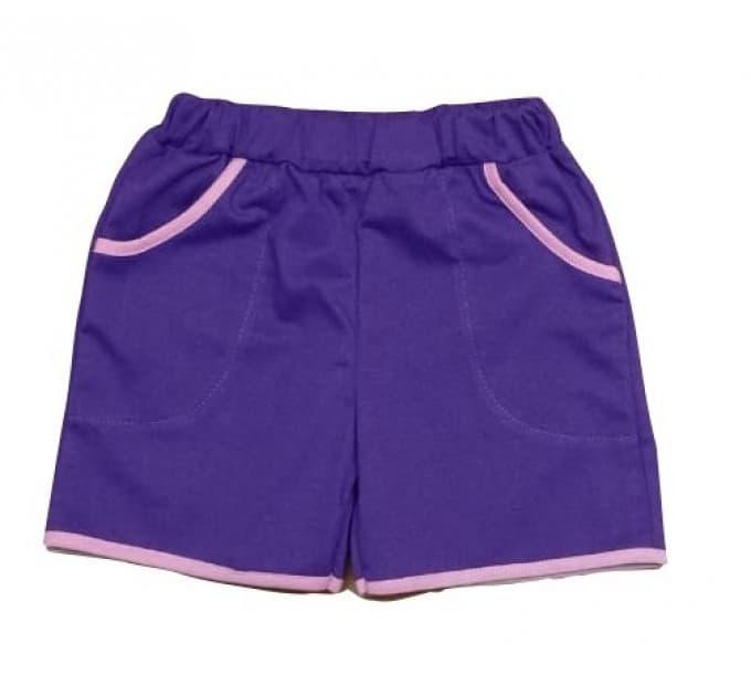 Шорты (3005/20) фиолетовые