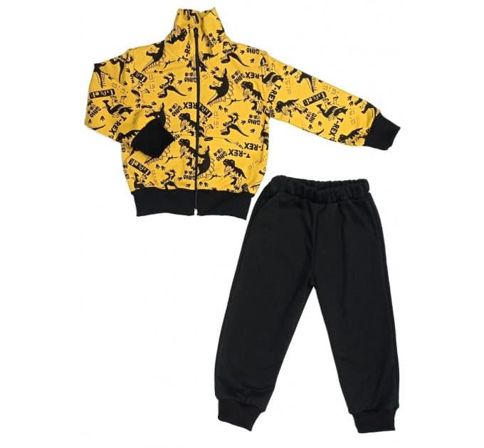 Спортивный костюм 0209/49 (дино, охра)