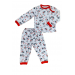 Пижама 602/35 кошечки, сердечки