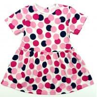 Платье 7044/16 (цветные горошки)