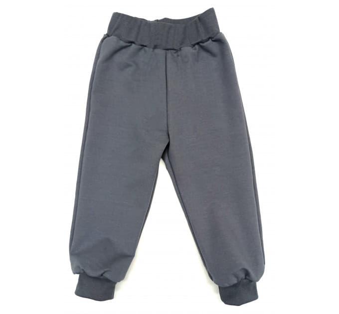 Спортивные штаны 381/3 (темно-серые)