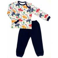 Пижама теплая для мальчика 610/31 (джип)