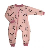 Комбинезон 5115/69 розовый, панды Б/Н