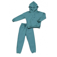 Спортивный костюм 2602/1 зеленый, 2хн