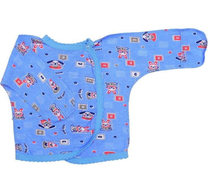 Распашонка для мальчиков 507/5 (голубые)