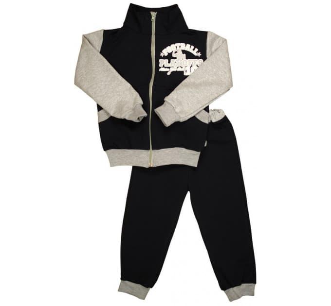 Спортивный костюм 0209/8 (чёрный)